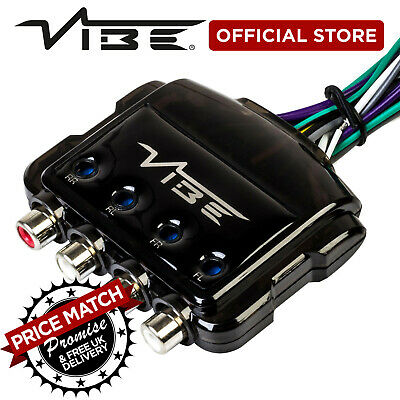 VIBE Critical Link Car Audio 4 Channel Line Remote Output Converter Adaptor