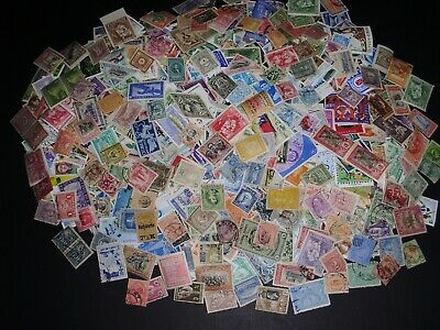 1000 Worldwide Stamps. Mix of Mint & Used, off paper, Early and later issues