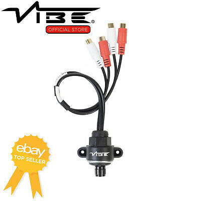 VIBE Critical Link Car Audio Amplifier Inline Bass Volume Level Dial Controller