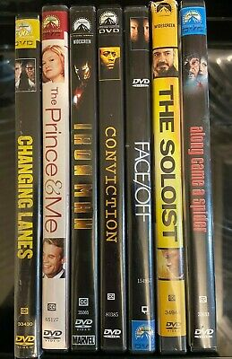 Lot Of 7 Assorted **Mix Genre** DVD Paramount Movies Good Condition