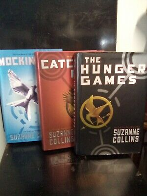 THE HUNGER GAMES Trilogy Complete Set 1-3 Suzanne Collins Lot 3 FIRST EDITIONS