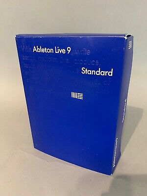 Ableton Live 9 Suite Standard Music Software  No Serial #
