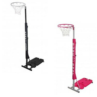 Sure Shot Easiplay Adjustable Netball Post - outdoor netball ring portable unit