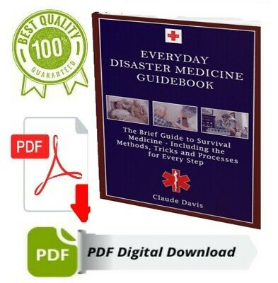 ⚡everyday disaster medicine guide-P.D.F 📥 by Dean Koontz ⚡ Instant Delivery