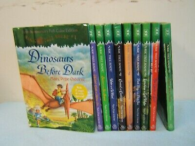 Lot of 10 Magic Tree House Hardcover Books - #1-Merlin Mission-Mary Pope Osborne