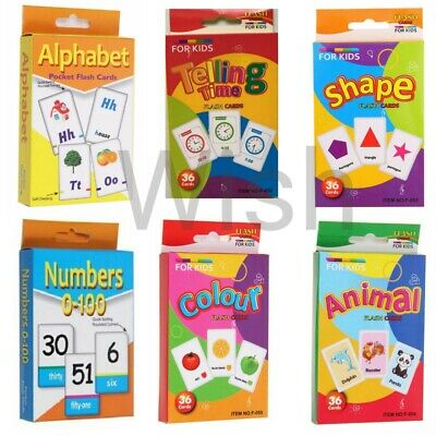 Kids Flash Cards Flashcards for Preschool Learning.