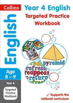 Collins KS2 Year 4 English Targeted Practice Workbook -age 8-9