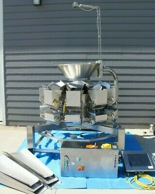 WeighPack Primocombi Multihead Packaging Weigher 5L,10 Head *Amazing Condition*
