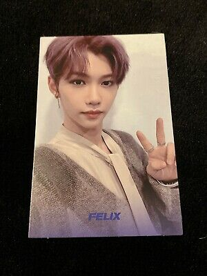 Stray Kids Cle Levanter Felix Blue Name Photocard