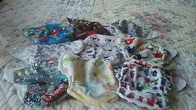 9 Alva Pocket Diapers Lot