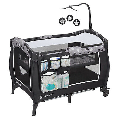 Baby Trend E Rising Star Nursery Center with Baby Changing Table and Playard