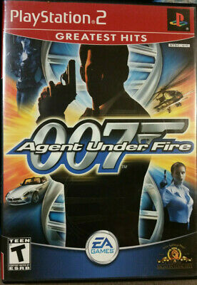 Replacement Manual & Game Case James Bond 007: Agent Under Fire PlayStation 2