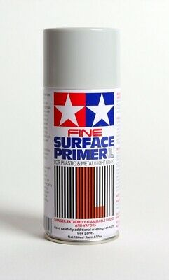 Tamiya Gray Fine Surface Primer large can 6.9 oz (180ml)  87064