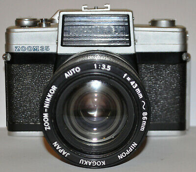 Nikkorex zoom 35 camera, one for the collector! Classic!