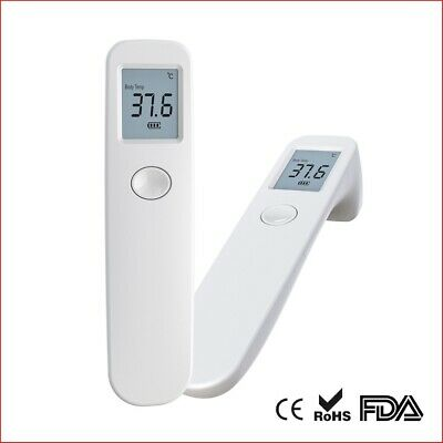 Non-Contact Digital Infrared Forehead Thermometer Medical Grade 1 Sec Accurate