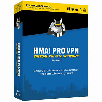 ✅ Hide My Ass! HMA PRO VPN 2020 ✅ 1-Year Subscription 🚀 Instant Delivery 🚀