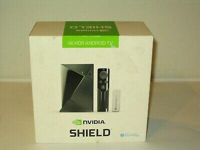 NVIDIA SHIELD TV 4K HDR Streaming Media Player w/Remote, Smartthings USB