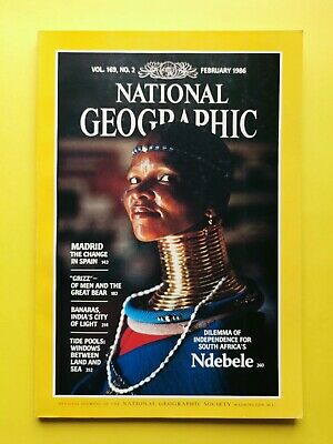 National Geographic (Vol. 169 No. 2 February 1986) Ndebele