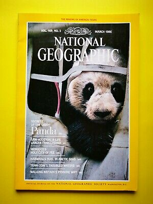 National Geographic (Vol. 169 No. 3 March 1986) Panda
