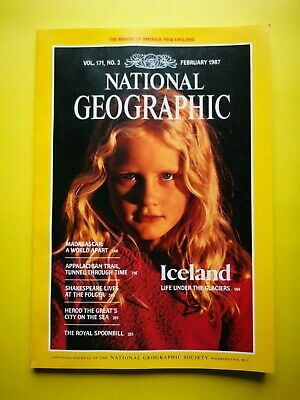 National Geographic (Vol. 171 No. 2 February 1987) Iceland