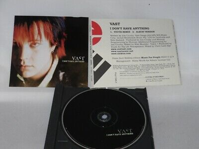 Vast - I Dont' Have Anything -  Promo Only CD Single (PRCD 1566-2)