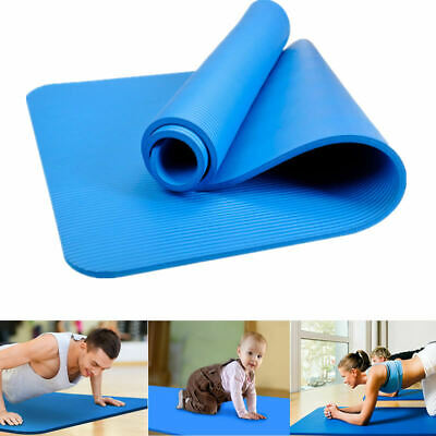 8mm EVA Thick Durable Yoga Mats Non-slip Exercise Fitness Pad Mat Lose Weight