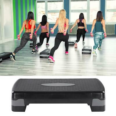 """Aerobic Stepper 27"""" Cardio Platform Fitness Step 4″- 6″ Workout Exercise Risers"""