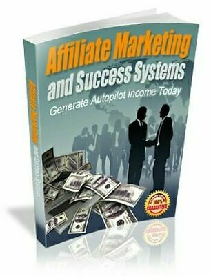 Affiliate Marketing and Success Systems eBook PDF with Master Resell Rights