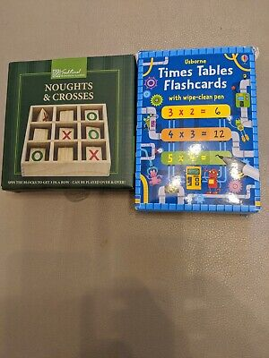 Flash Card Times Table + O&X