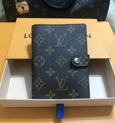 Louis Vuitton Monogram Small Ring Agenda Pm Cover With Extras!-100% Authentic!