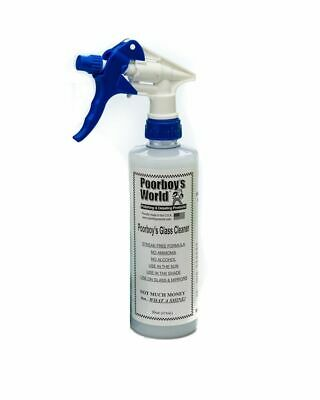 Poorboys PB-GC16 Car Cleaning Valeting Polish Glass And Windscreen Cleaner 473ml