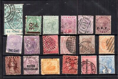 British Commonwealth QV unchecked collection WS17271