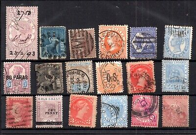 British Commonwealth QV unchecked collection WS17273