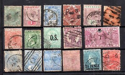 British Commonwealth QV unchecked collection WS17278