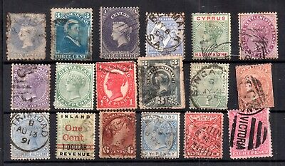 British Commonwealth QV unchecked collection WS17279