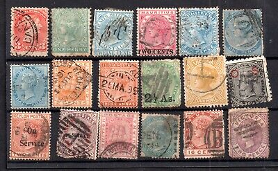 British Commonwealth QV unchecked collection WS17280