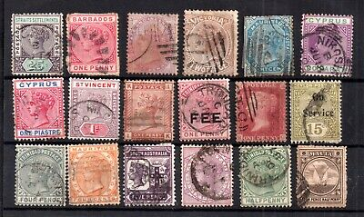 British Commonwealth QV unchecked collection WS17283