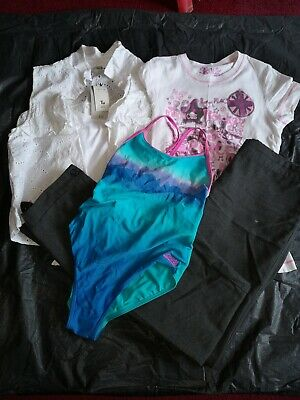 14 Years, Girls Bundle, Top/T-Shirt/Trousers/Swimsuit. Sainsburys/Complices/Debe