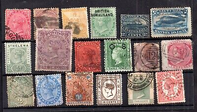 British Commonwealth QV unchecked collection WS17288