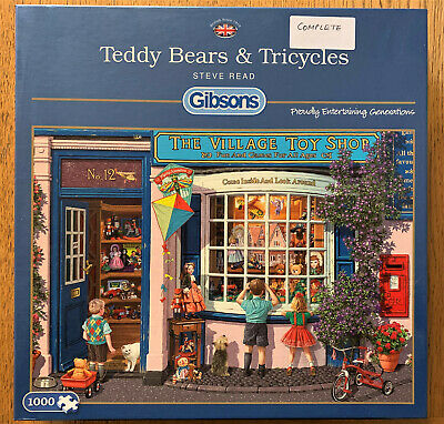 Gibsons - Teddy Bears & Tricycles -  Jigsaw Puzzle, 1000 piece