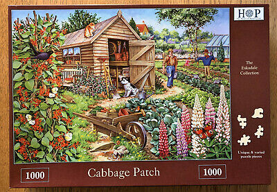 """House Of Puzzles  - """" Cabbage Patch """" - 1000 Piece Puzzle"""