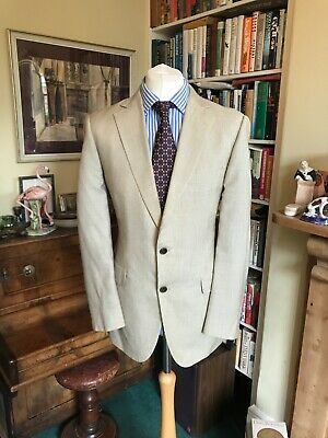 Gieves & Hawkes Silk and Cashmere Striped Jacket