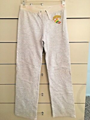 Juicy Couture girls 💕 dance yoga sweat pants velvet POPSICLE 💝 hip logo sz 10