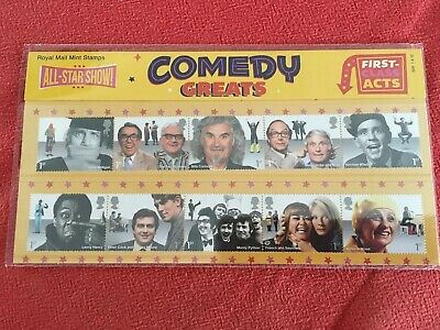 GB Presentation Pack No.509- Comedy Greats - Dated 01/04/2015