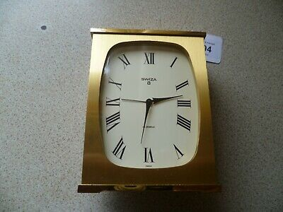 Vintage Swiza Wind Up Mantle Clock