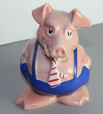 NatWest Pigs Brother/Son Maxwell (With Original Stopper)