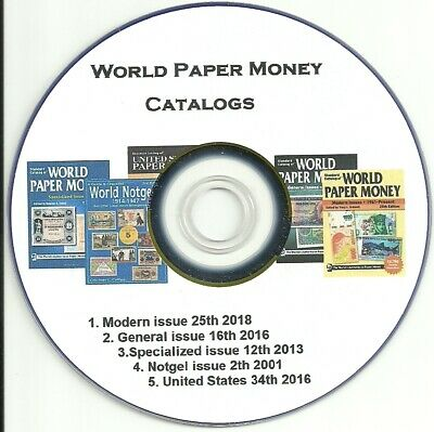 World Paper Money Catalog ▶ World Issues from 1601 to Present on DVD 5 Cat.