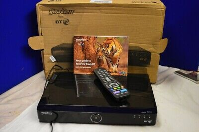 BT Humax DTR-T1000 YouView Freeview+ HD 500GB Twin Tuner Recorder Box PVR