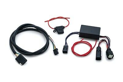 Kuryakyn Plug & Play Trailer Wiring for 14-18 FLHR/Police w/ 4-Wire Trailer 2598
