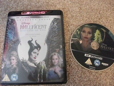 maleficent mistress of evil 4k in case no blu ray is included